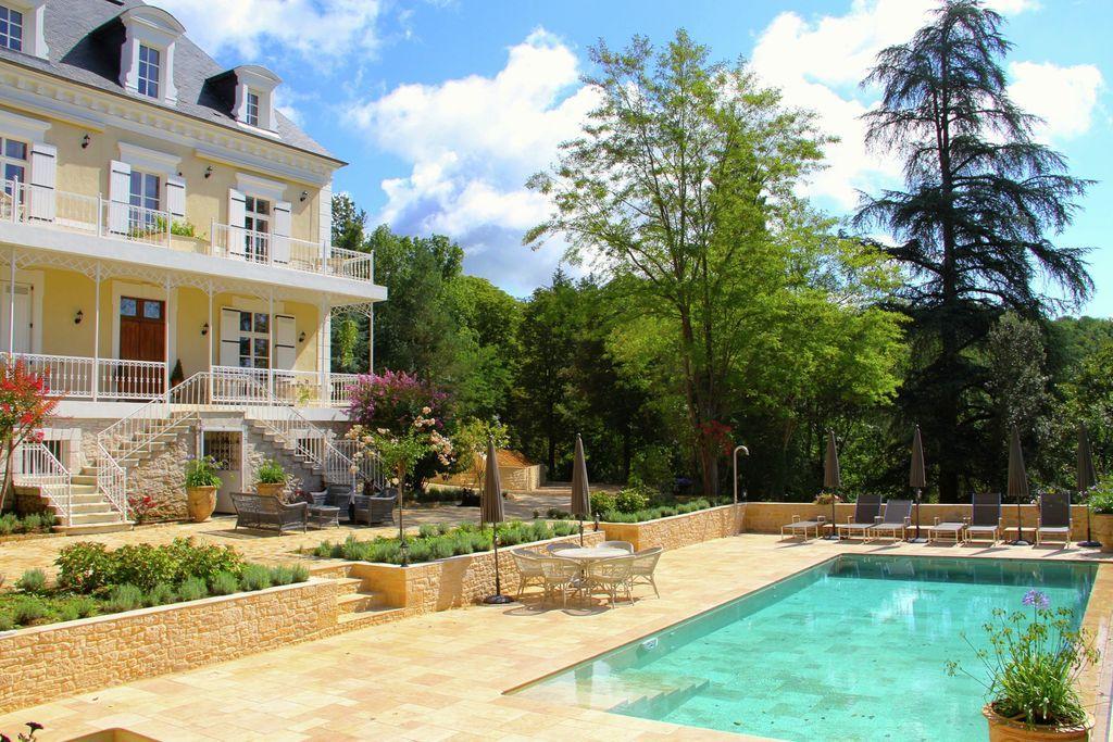Luxe Maison de Maître - burgemeesterswoning - met verwarmd zwembad en jacuzzi