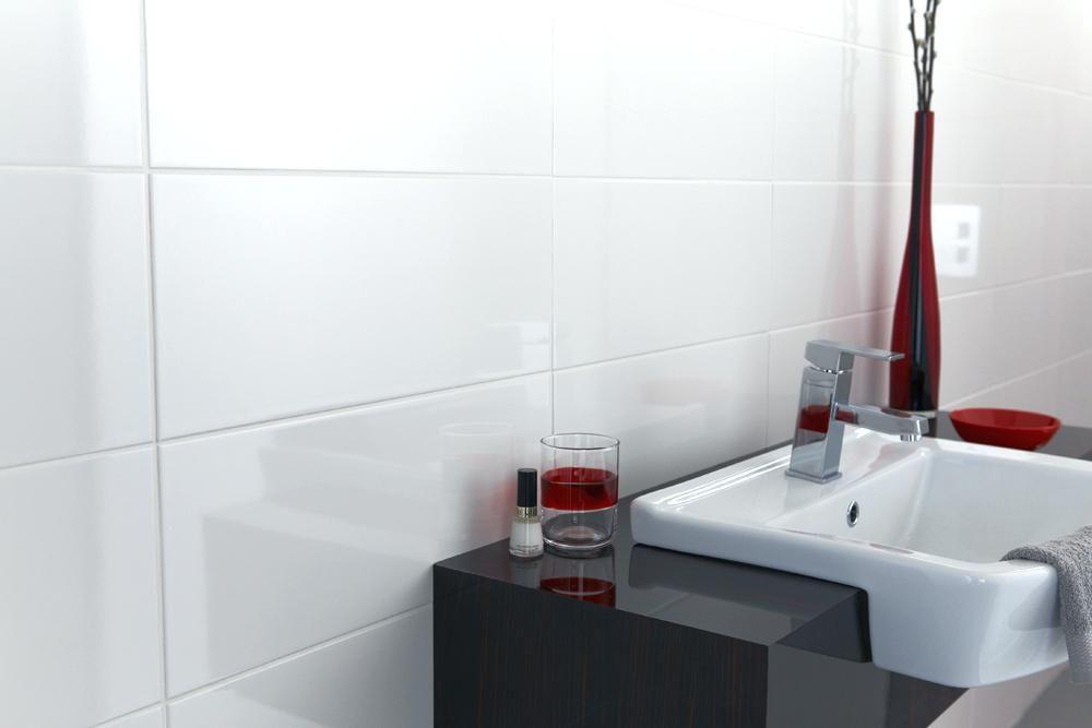Cheap White Bathroom Tiles Metro White Wall Tile Large Grey Bathroom Tiles Bq Cheap Black And White Bathroom Tiles White Tile Bathroom Walls White Wall Tiles