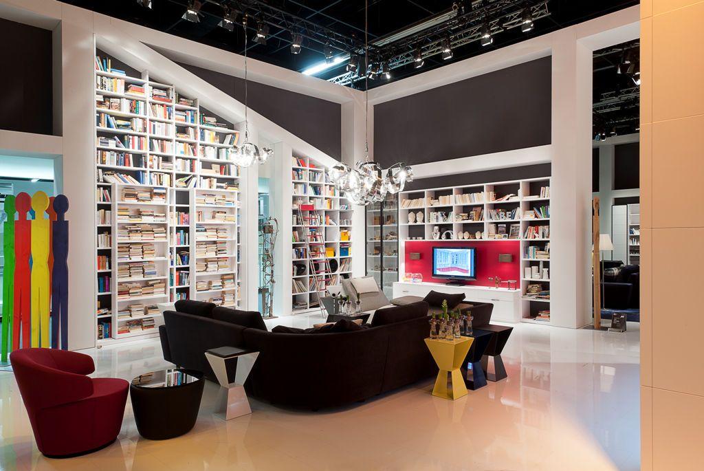 Modernes Bücherregal Aus Holz SUPER QUANTUM Snow Rubin De Paschen Paschen