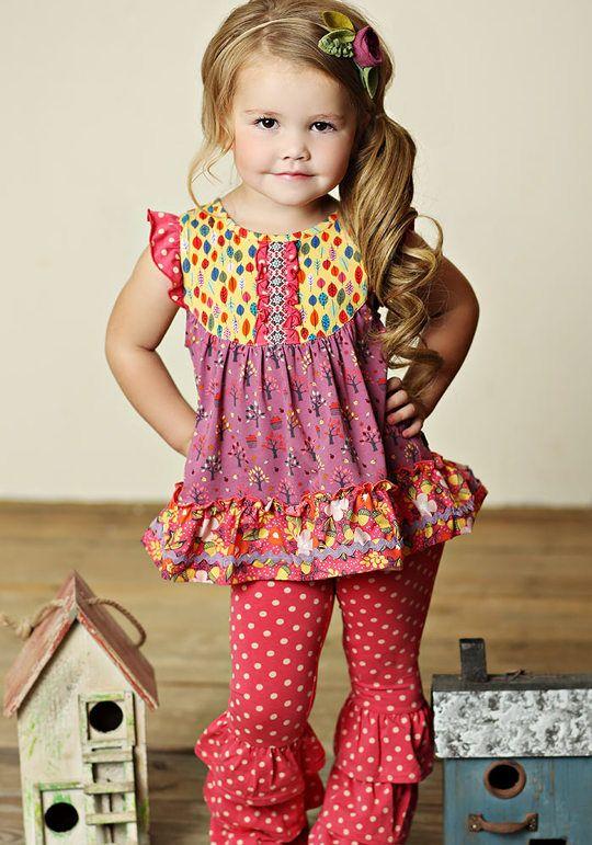 Matilda Jane Saffron Top Size 6 and Bianca Benny's Size 2