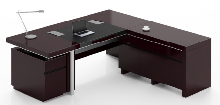 professional office desk. Professional Office Desk | Sleek Modern Executive Company E