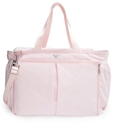 Armani Junior Double Strap Nylon Diaper Bag