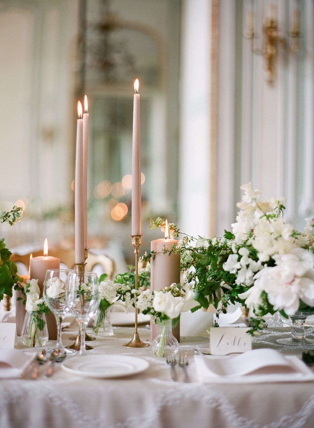 Setting the Table Elements for a Glamorous