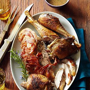 Farm-to-feast Thanksgiving | Heritage turkey with crisped pancetta and rosemary | Sunset.com #SunsetTurkeyDay