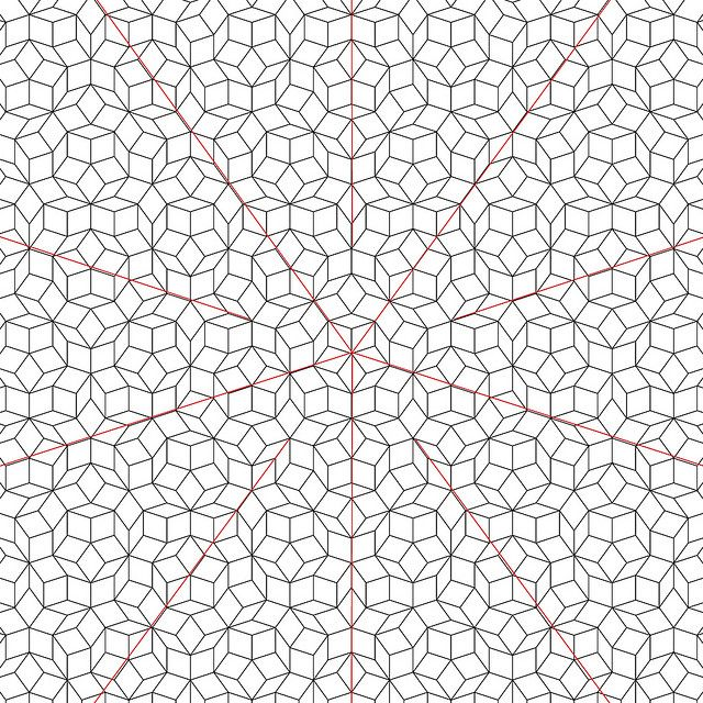 Empty Graph Penrose Tiling Paper Piecing Patterns Quilts