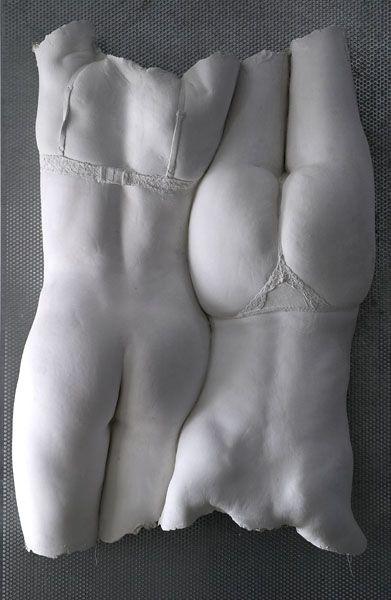 Atelier Hermes: Körperabformungen