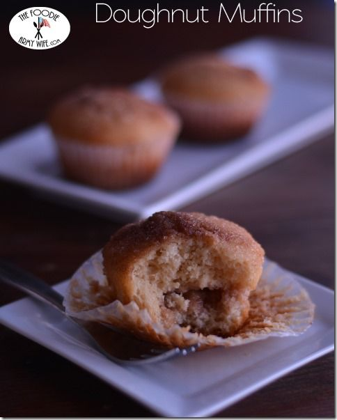 Doughnut Muffins from The Foodie Army Wife