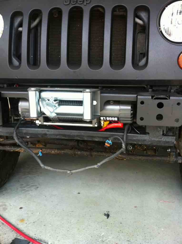 Harbor Freight Universal Winch Mount Jk Google Search Winch