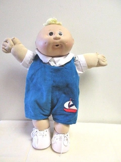 Cabbage Patch Preemie Doll Blond Hair Brown Eyes Cabbage Patch Kids Dolls Cabbage Patch Dolls Cabbage Patch Kids