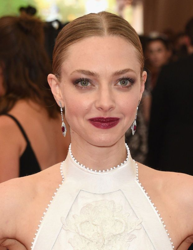 Amanda Seyfried at the 2015 Met Gala, styled by Danilo.