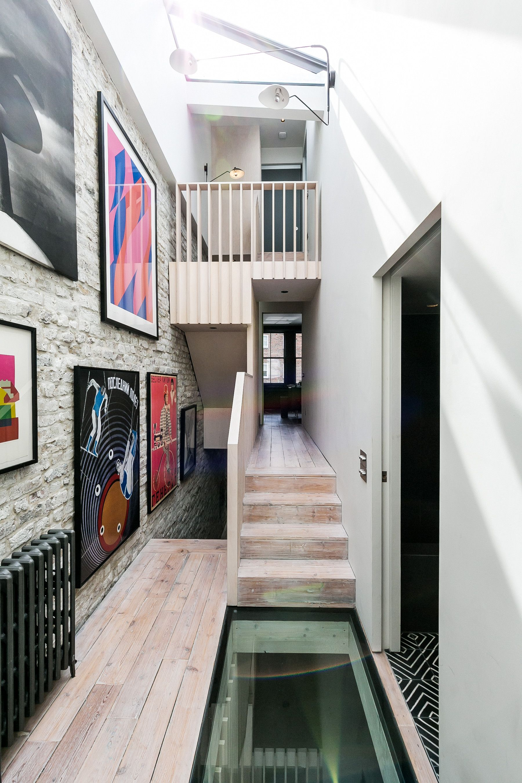 The Existing Loft Space Above The Front Of The House Has Been Converted Into A Bedroom With A Separate Shower Room Modern House Architect House Extensions