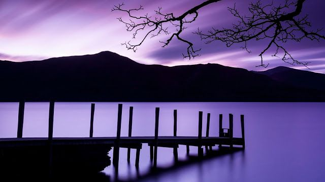 Purple Dusk High Definition Wallpapers Hd Wallpapers Desktop Background Nature Nature Wallpaper Nature Backgrounds