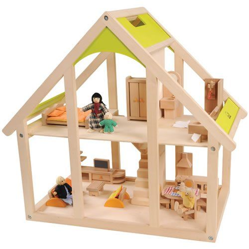$129 all in one wooden dollhouse hape http://www.amazon/dp