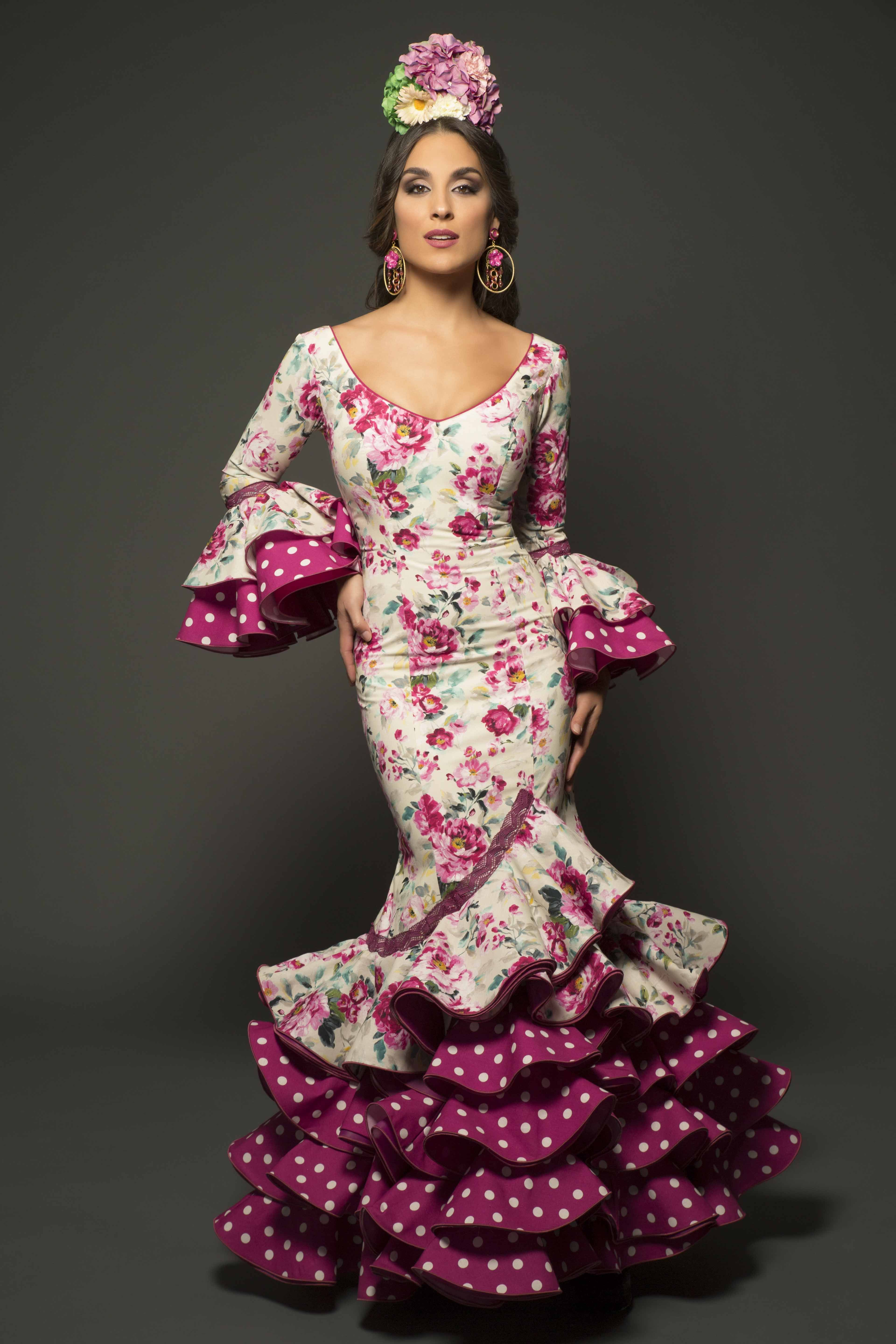 Abanico de colores flamenco dresses best dresses collection for Abanico de colores