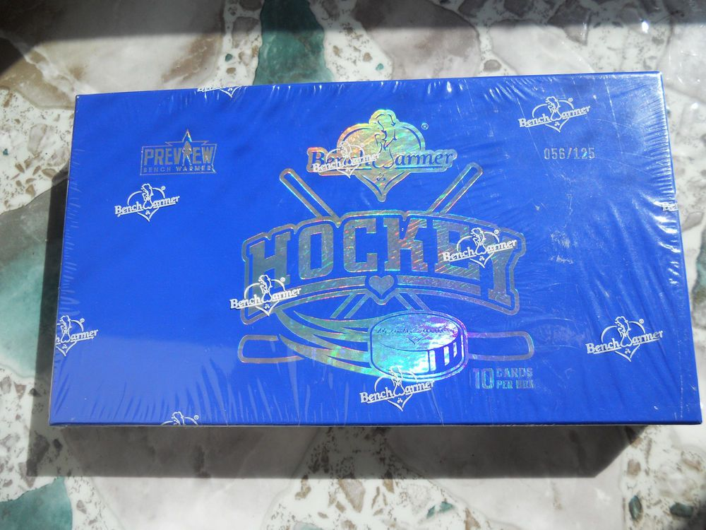 2014 bench warmer hockey preview unopened sealed box 56