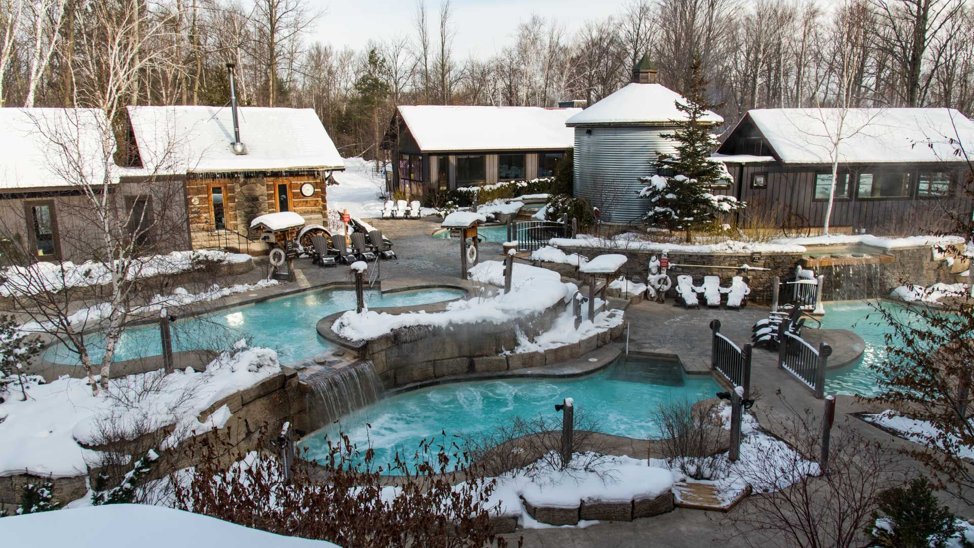 Relaxation In The Heart Of Nature Scandinave Spa Blue Mountain Scandinave Spa Blue Mountain Outdoor Spa Blue Mountain Outdoor Baths