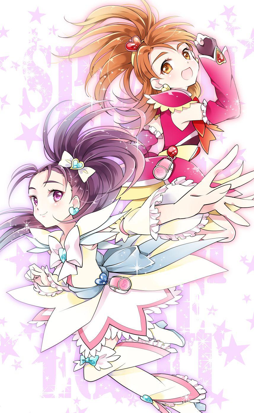 Bloom/Bright/Saki and Egret/Windy/Mai Futari wa pretty