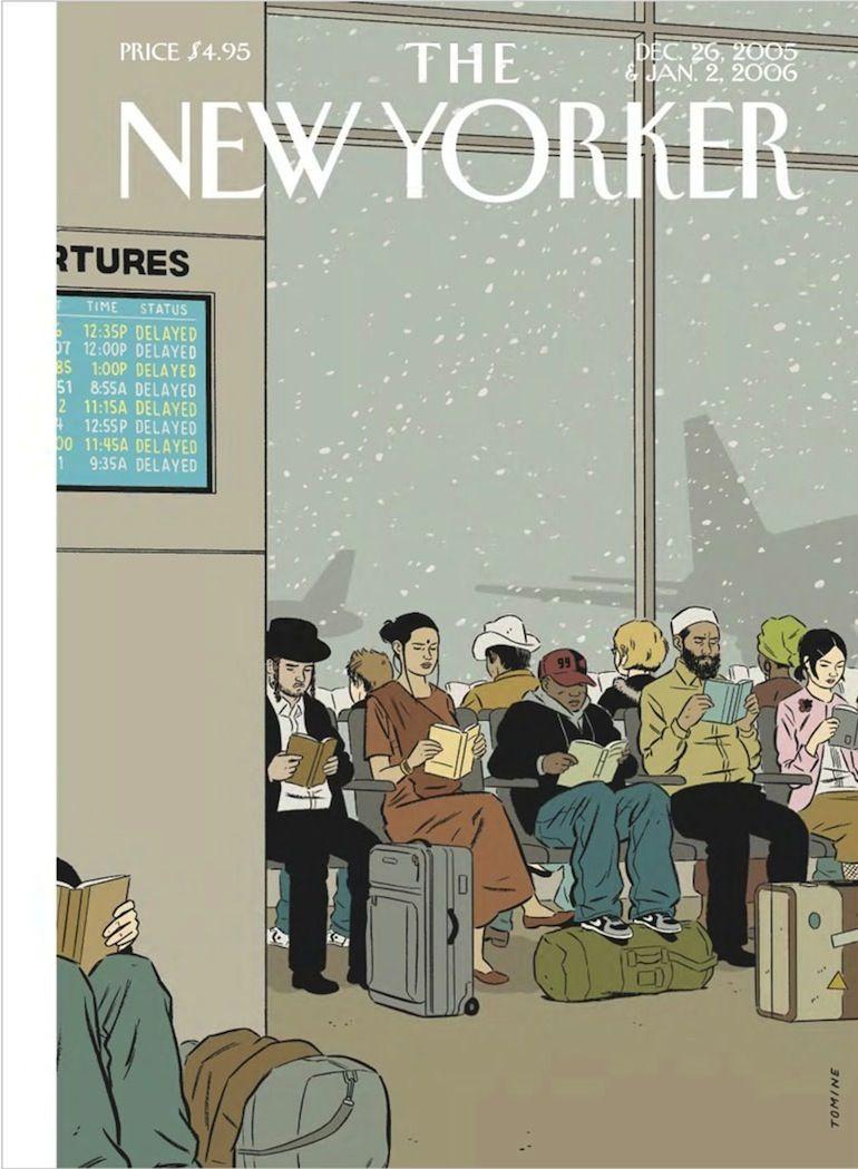 Adrian Tomine New Yorker | The new yorker, Arte del libro, Libri ...