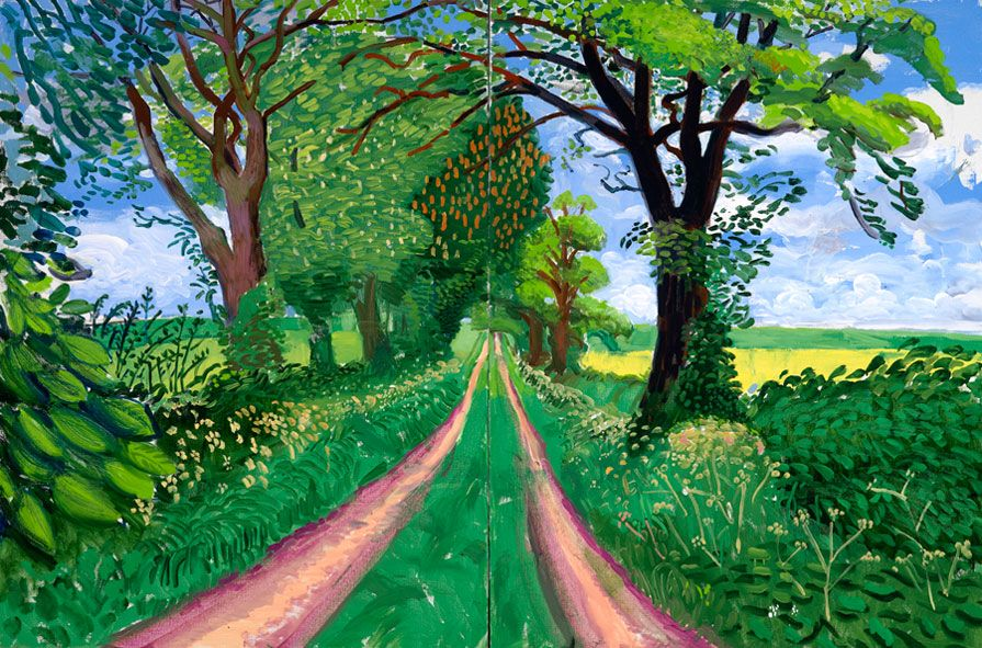 David Hockney: A Bigger Picture   Spring, Pictures and Search