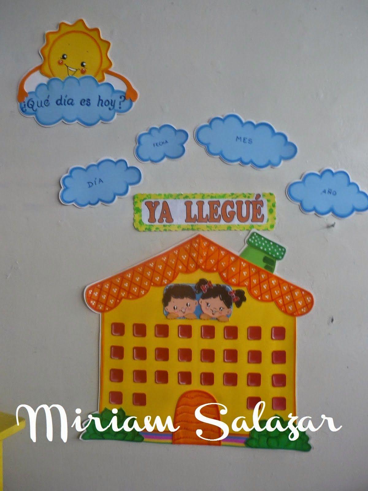 Recursos para educaci n inicial carteles de ambientaci n for Cosas para decorar el hogar
