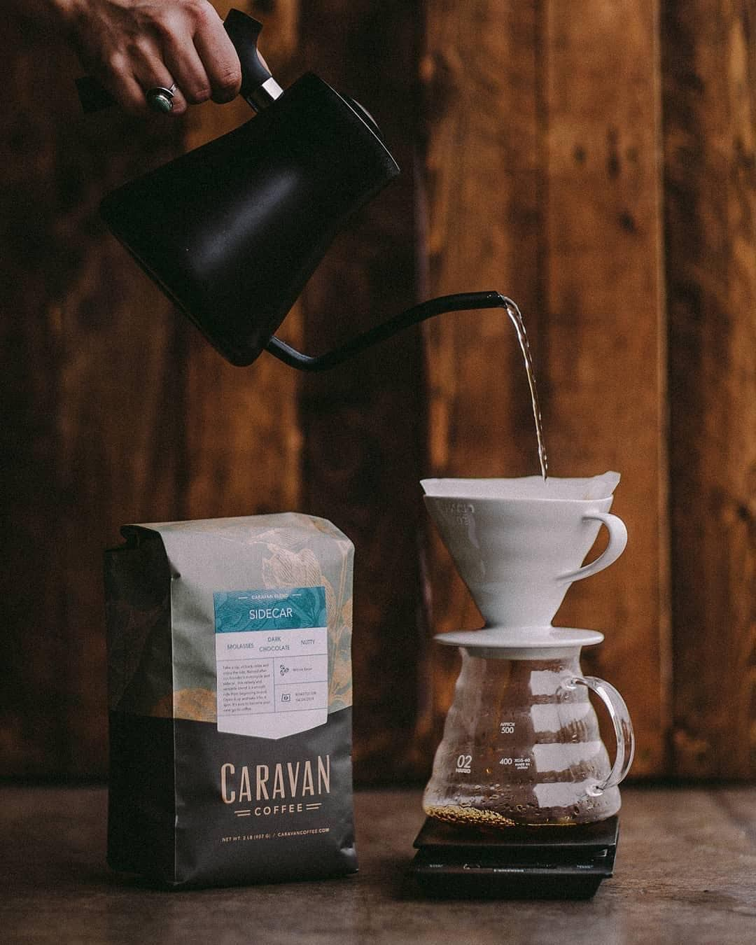 Posted @withrepost • @caravan_coffee Our 2lb bags are the perfect size for daily brewing at home. Just enough coffee that you won't run out but not so much that it goes stale before you finish it. . . .  brewedwithintention  coffee  coffeetime  sidecar  coffeelover  espresso  latte  coffeecup  brew  coffeeroaster  specialtycoffee  wholesale  buy  coffeeshop  baristalife  barista  drink  cafe  cafelife  newberg  oregon  portland  like  love  beautiful  welltraveled #espressoathome Posted @withr #espressoathome