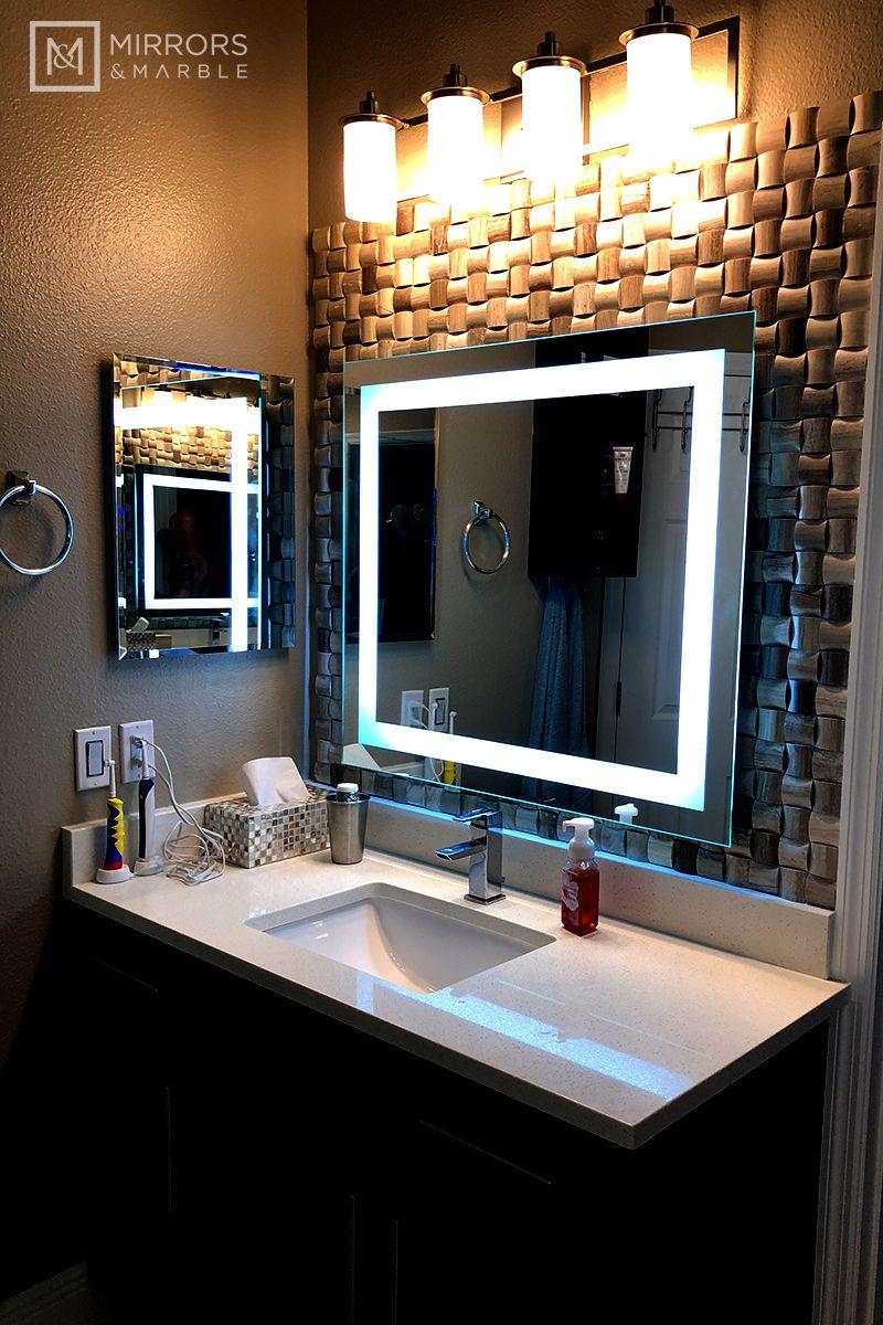 Front-Lighted LED Bathroom Vanity Mirror: 60 | Best ...