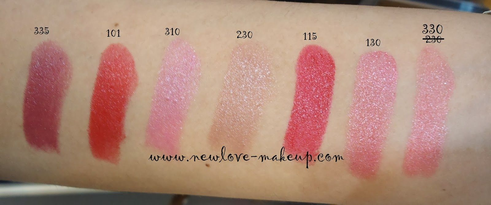 The Body Shop Color Crush Lipstick Swatches The body