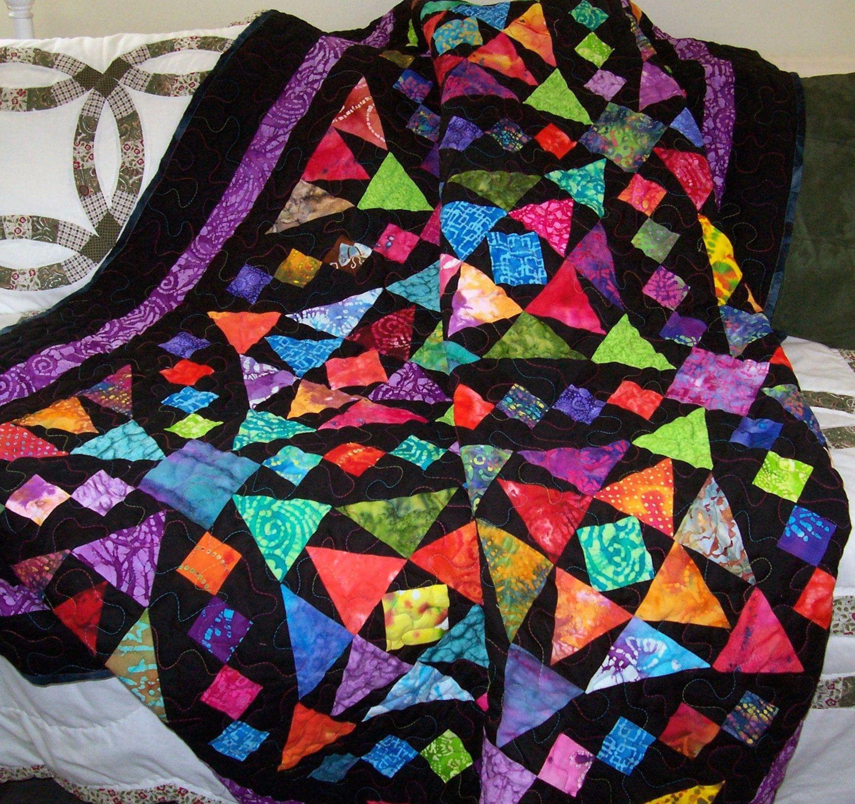 Download More 37+ Black White Batik Quilt Pattern Ideas