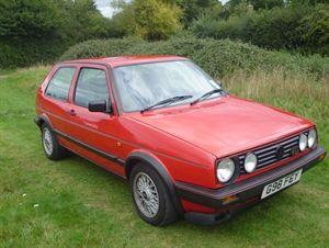 Volkswagen Golf Gti Mk2 16v 1989 Red For Sale Car Advert 215083