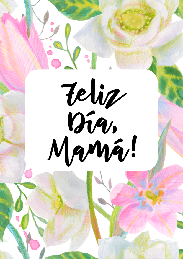 Tarjetas Imprimibles Dia De La Madre In 2021 Happy Mother S Day Greetings Happy Mothers Day Images Happy Mothers Day Clipart