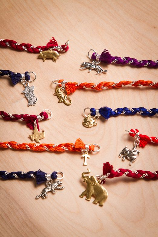 College Mascot charm bracelets  GREAT graduation gift!!