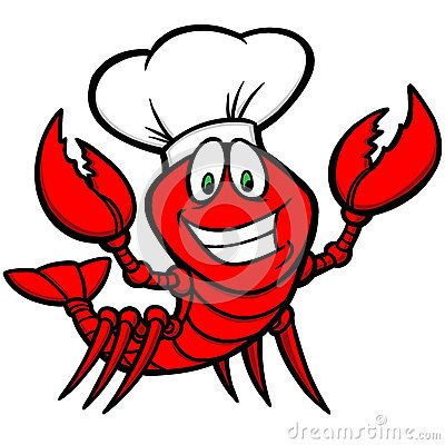 Vector Illustration about Crawfish Supper