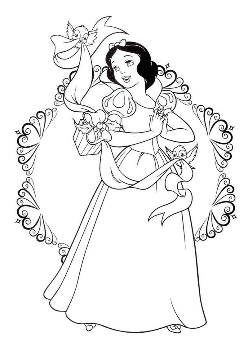 Snow White Coloring Pages For Your Lovely Daughters Free Coloring Sheets Snow White Coloring Pages Princess Coloring Pages Disney Princess Coloring Pages