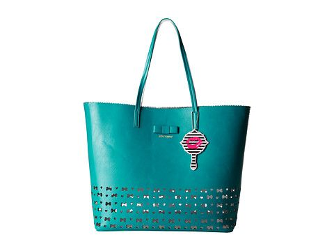 6138551f52 Betsey Johnson Laser Tag Tote