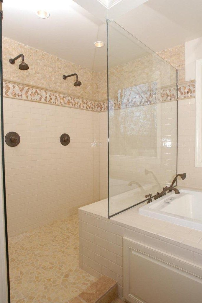 two person shower and two person bathtub - Google Search | Master ...