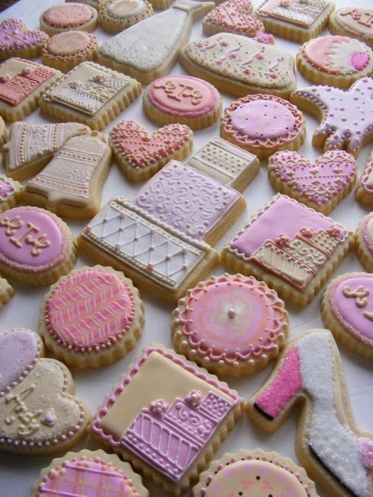 Cookie Trays - Buttercup Cookie bridal shower cookies | cookie ...