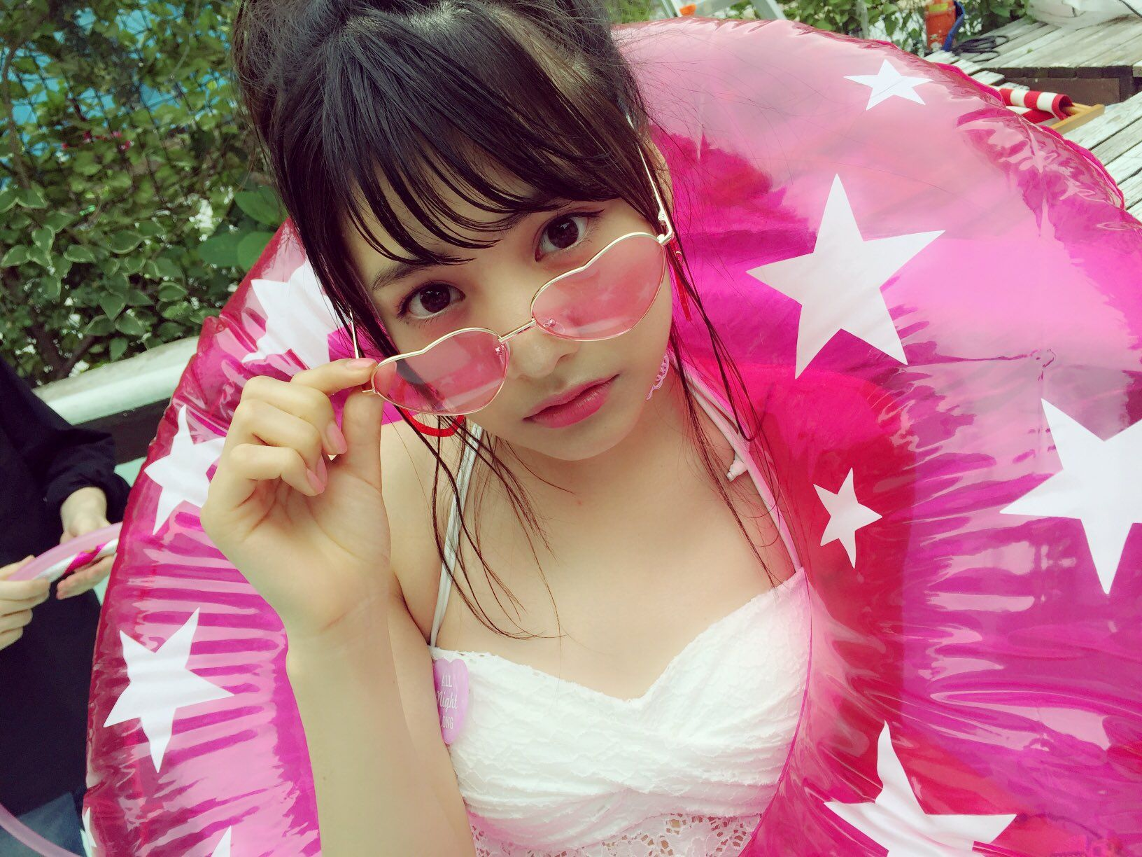 """松永有紗さんのツイート: """"おはこん〜😚✌️✌️ みんなにとって、楽しい週末になりますよぅに...♪*゚ https://t.co/sLXfkJtk3A"""""""