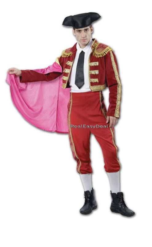 Adult Spanish Matador Men Bull Fighter National Dress bullfighter ... f2c711404e35