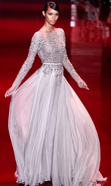 Robe de soiree de haute couture
