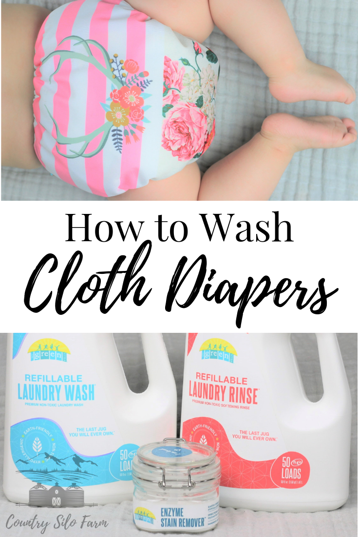 How to wash Cloth Diapers Wash cloth diapers, Washing