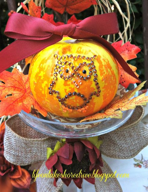 decorate pumpkins for fall with owl applique Craft Ideas - how to make pumpkin decorations for halloween