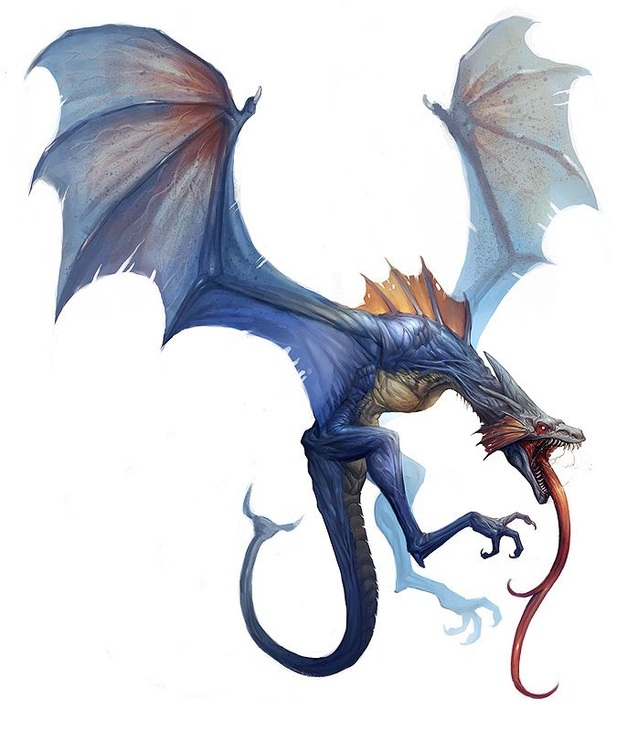 dragons with long fangs | e621 blue_body damie_m dragon fangs feral ...