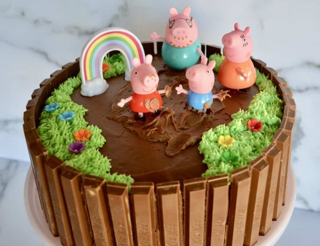 Peppa Pig Birthday Cake Recipe Peppa Pig Birthday Cake Pig
