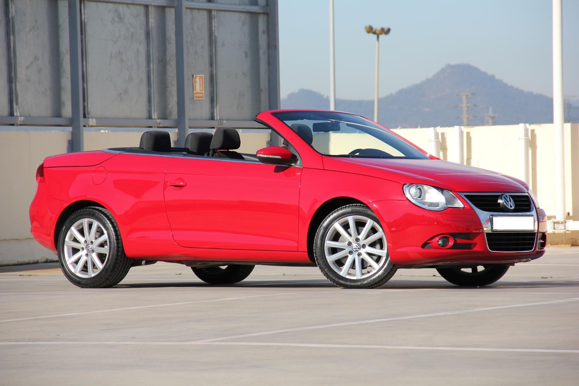 Volkswagen Eos Segunda Mano En Oferta En Rekord Motor Color Rojo