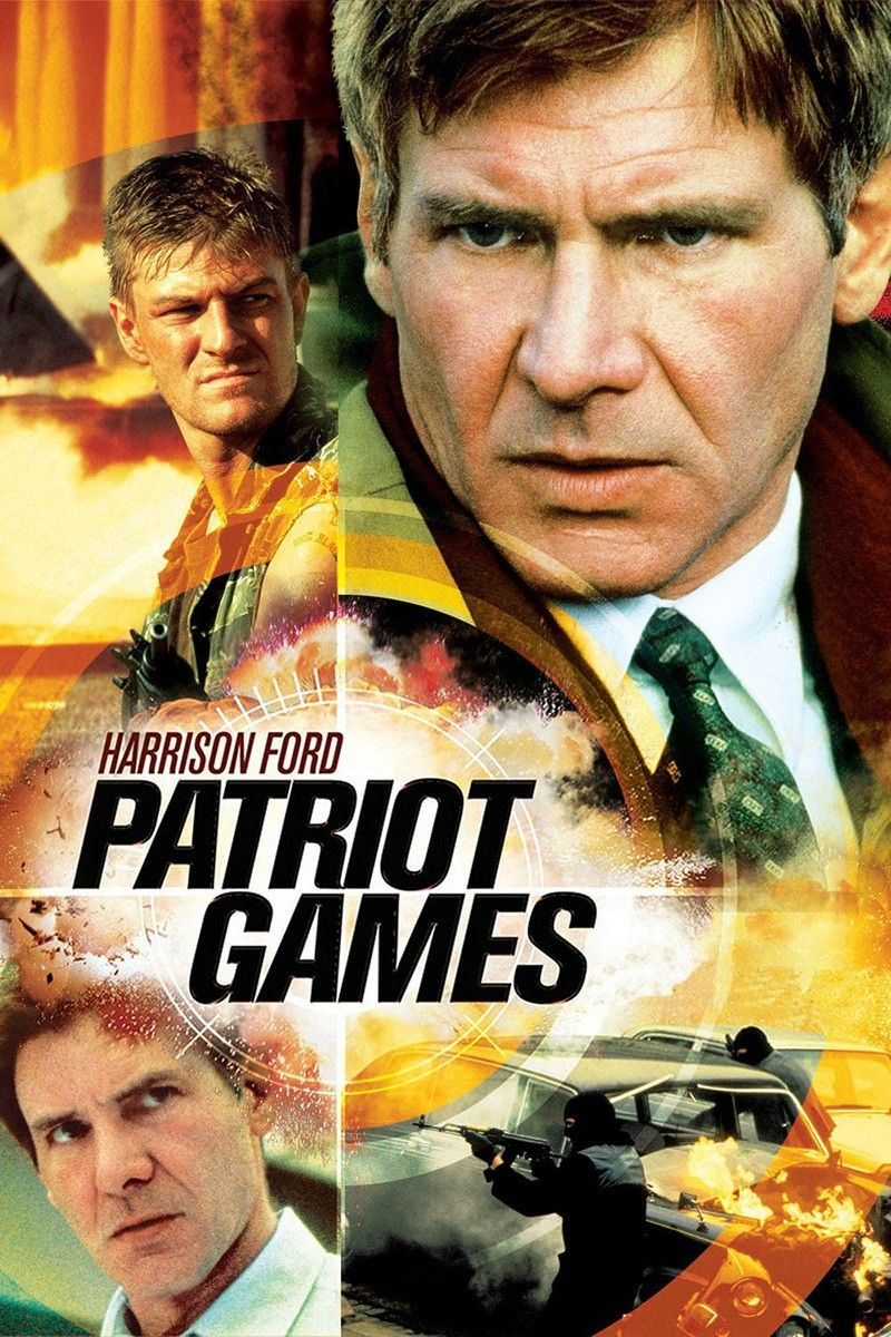 Patriot Games 1992 In 2020 Patriots Game Movies By Genre Harrison Ford