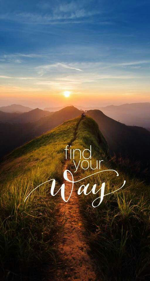 "Inspirational travel quotes | ""Find your way"" – Sprüche"