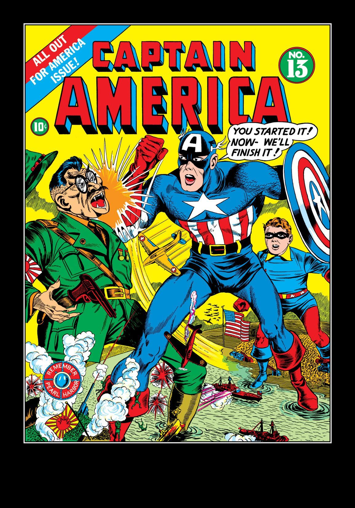 Captain America Comics 1941 1950 13 Comics By Comixology Captain America Comic Captain America Comic Books Old Comics