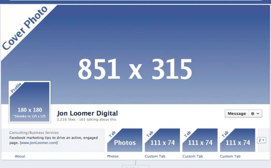 The Ultimate Guide To Facebook Timeline For Pages Dimensions