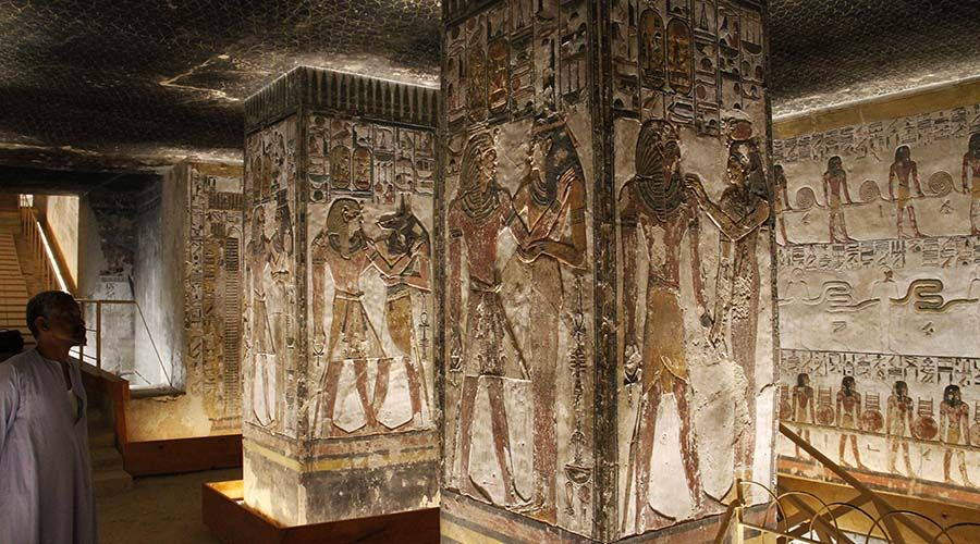 Seti II Tomb KV 15 Luxor Egypt | Luxor tombs | Luxor egypt