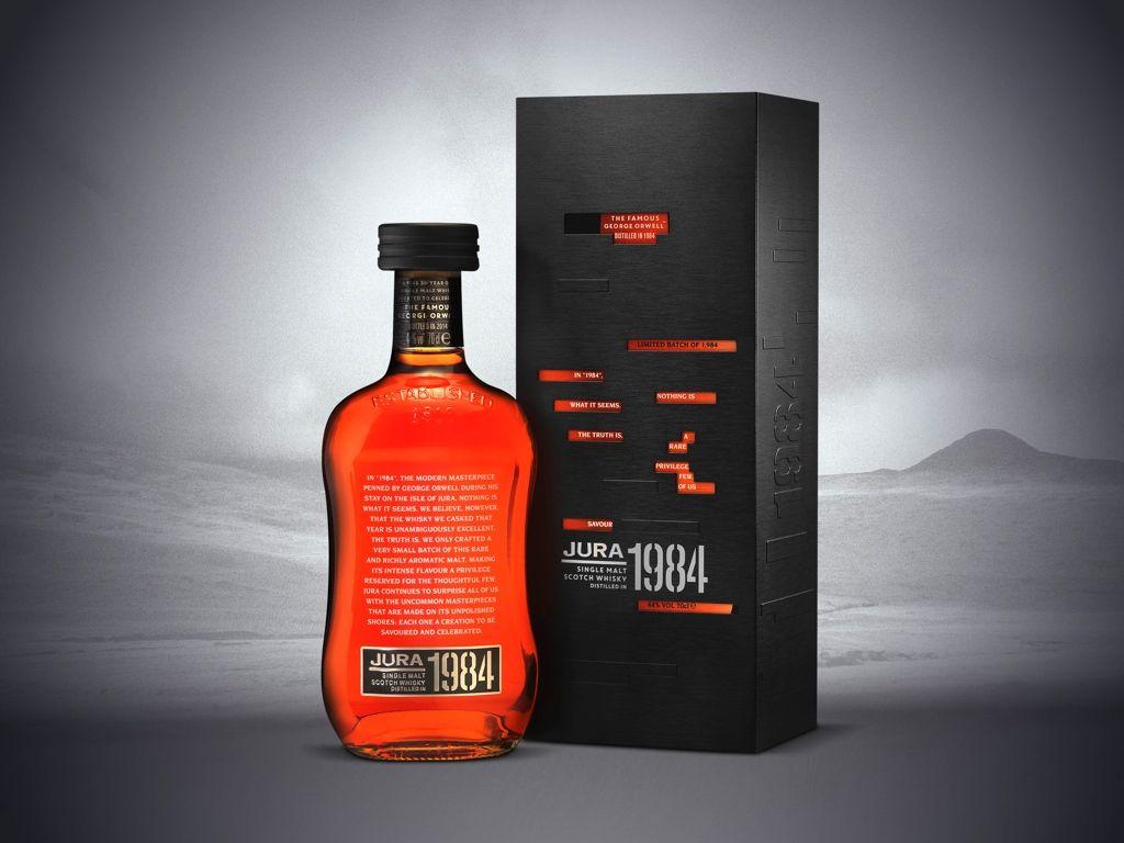 Jura 1984 Vintage Limited Edition Single Malt Whisky Licor